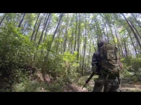 CQB Airsoft Game at Combat Zone Vancouver Canada