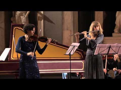 BACH-Triplo Concerto La (fl, vl, kl., orch.) 1044–MAZZINI-MORANDI-GIANNETTI-RUFFINI  /Bach in Black