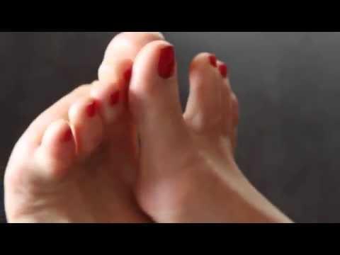 Aga feet teasing