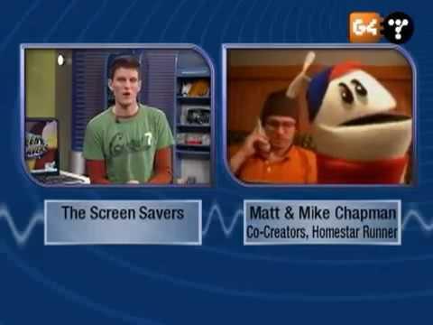 The Screen Savers - Mike & Matt Chapman interview