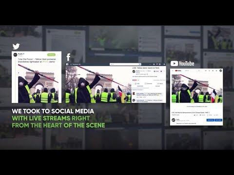 Ruptly Wins Gold at Shorty Awards with Yellow Vests  News Coverage