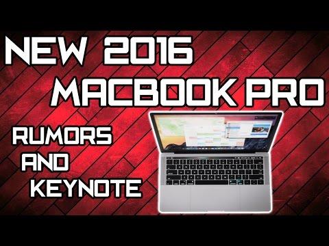 NEW Macbook Pro 2016 Rumors & Keynote