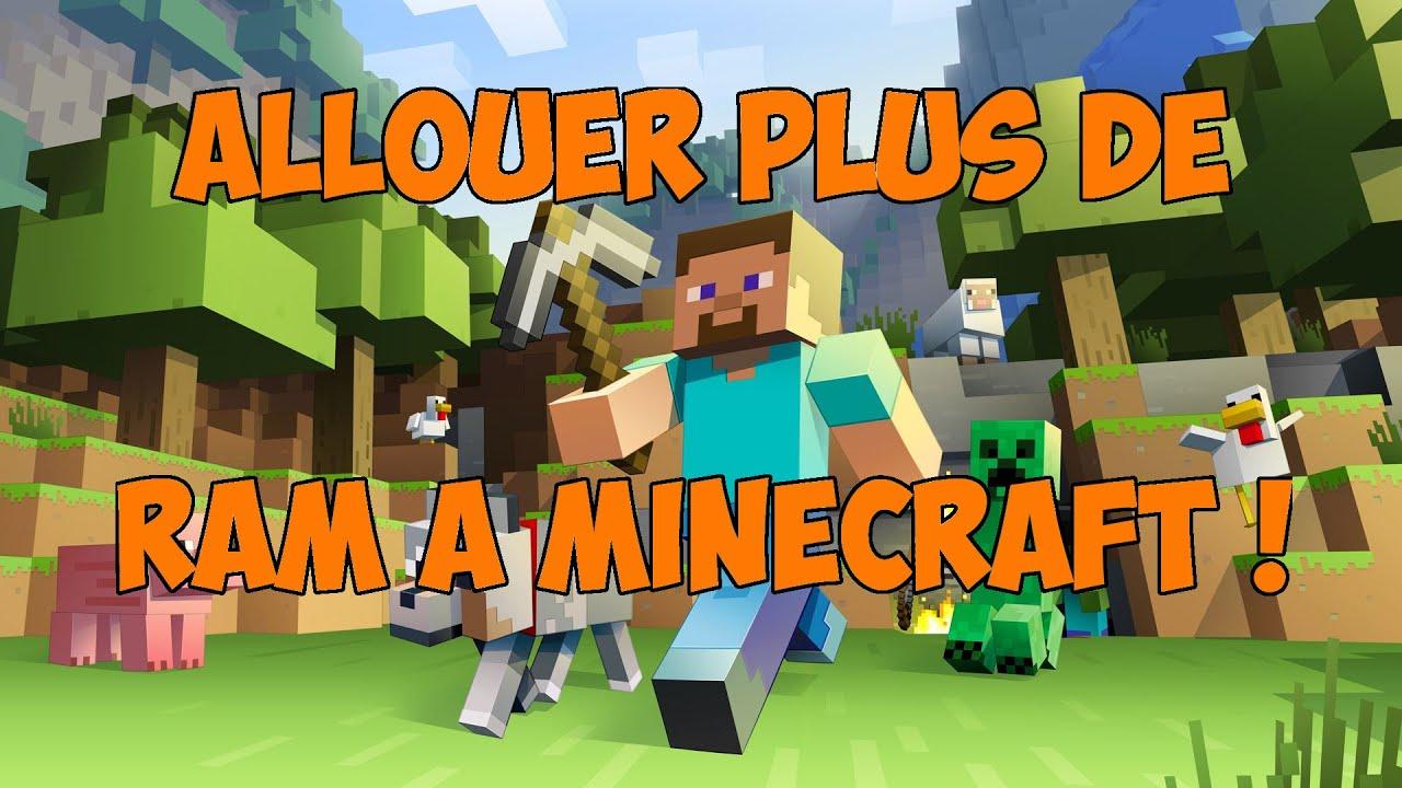 Comment Allouer Plus De Ram A Minecraft Youtube