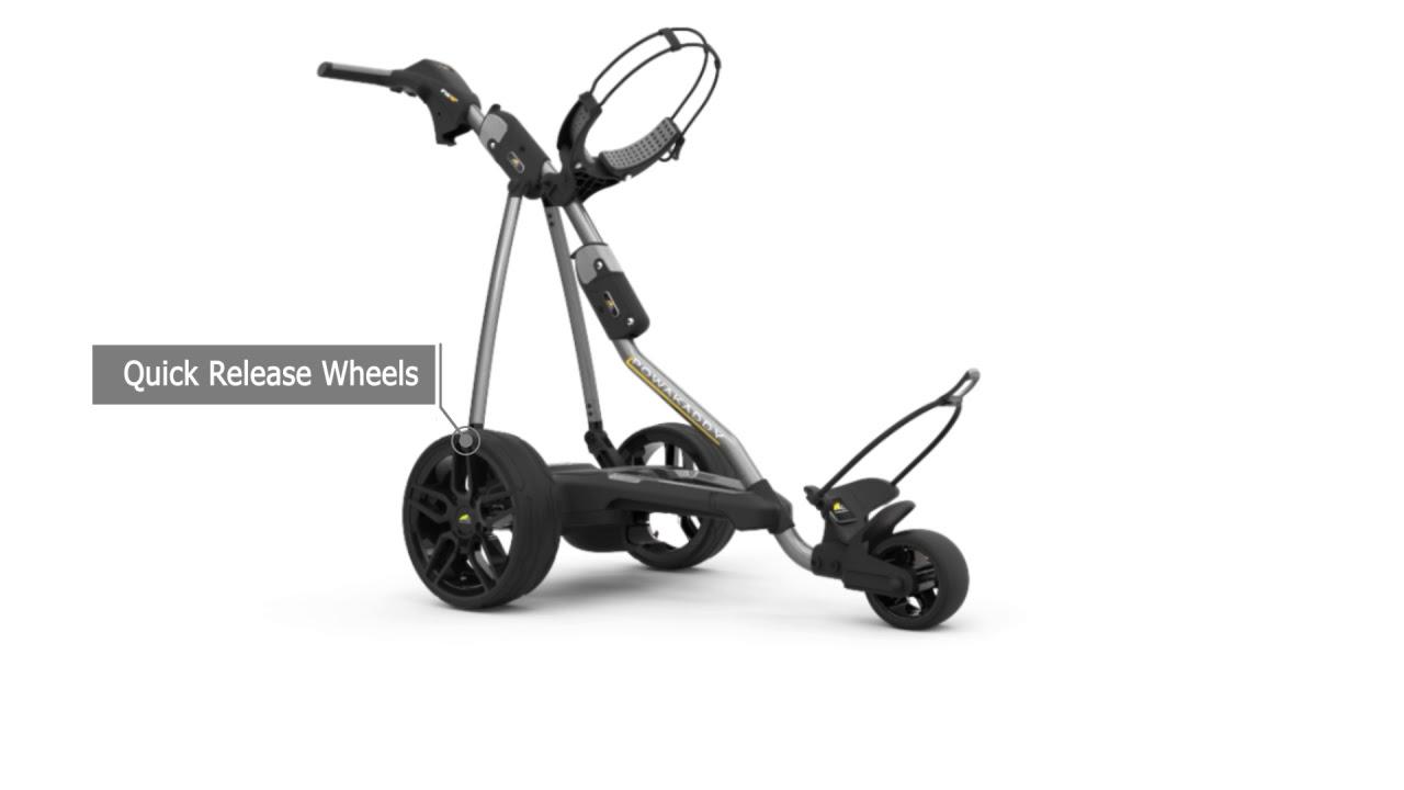 Powakaddy FW5S Electric Trolley 2019 Gunmetal