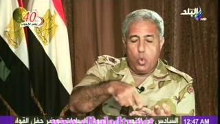 لقاء رولا خرسا الحصرى مع قائد قوات حرس الحدود 6-10-2013
