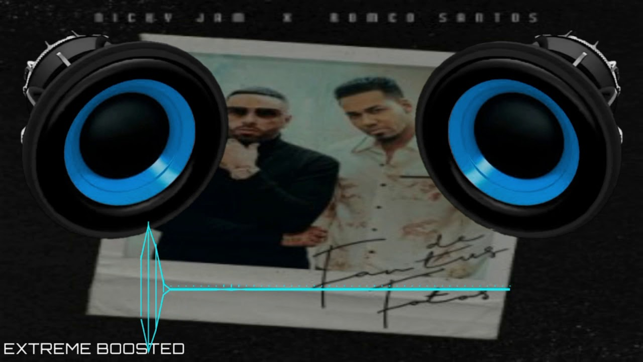 "Fan De Tus Fotos - ""BASS BOOSTED"" - Nicky Jam Ft Romeo Santos"
