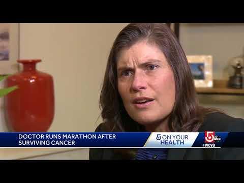 Boston doctor running marathon after surviving cancer