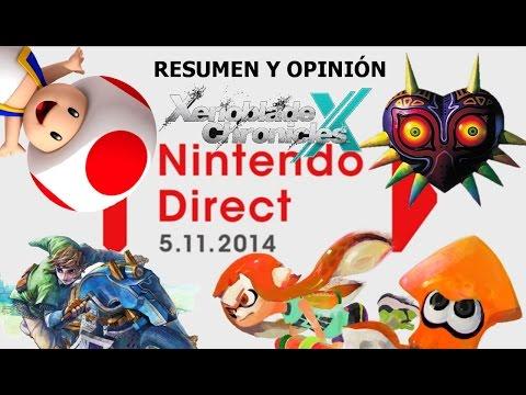 Resumen y opinión Nintendo Direct 05/11/14