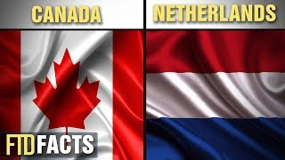 The Differences Between THE NETHERLANDS and CANADA