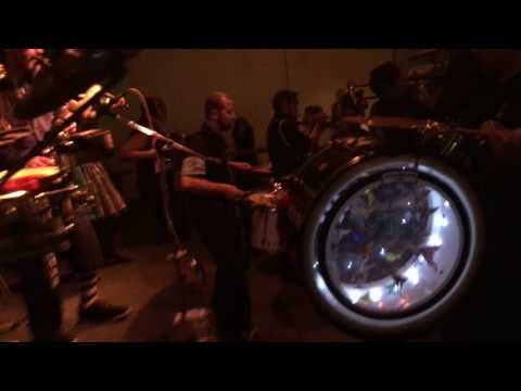 Emperor Norton's Stationary Marching Band at Industry City Distillery Brooklyn NY 2/11/2017