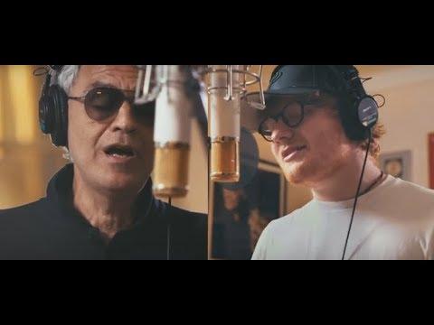 Perfect Symphony   Ed Sheeran & Andrea Bocelli (Lyrics in Italian and English)