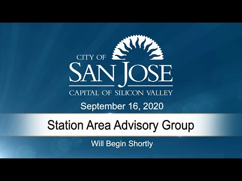 SEP 16, 2020 | Station Area Advisory Group