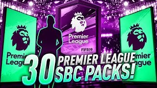 30 PREMIUM PREMIER LEAGUE UPGRADE PACKS! WALKOUTS & LIVE CARD PACKED! FIFA 19 Ultimate Team