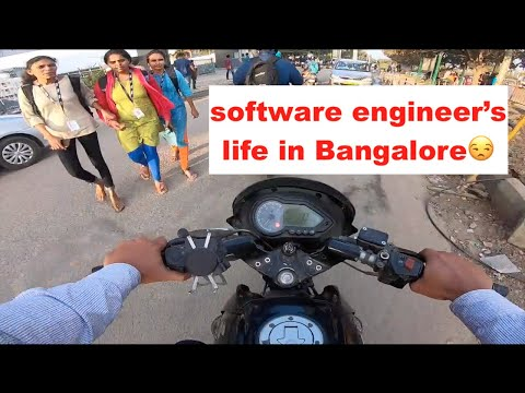 A Day Of My Life in Bangalore |Office life | A day in life of software engineer | Bangalore Traffic