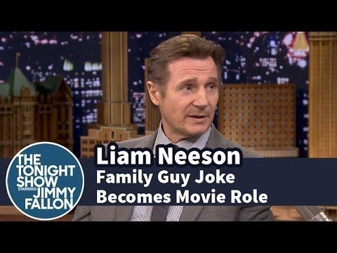 Thumbnail: Liam Neeson Spins a Family Guy Joke into a Movie Role