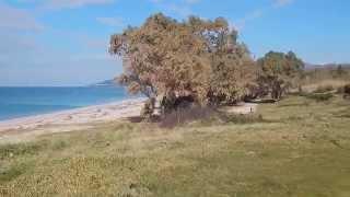 Παραλία στο Camping Monolithi