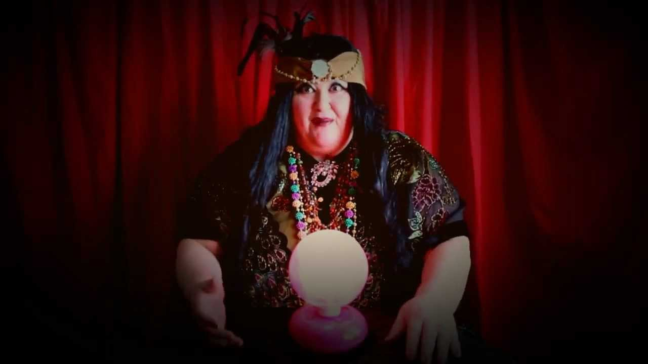 gypsy fortune teller gives you a psychic reading