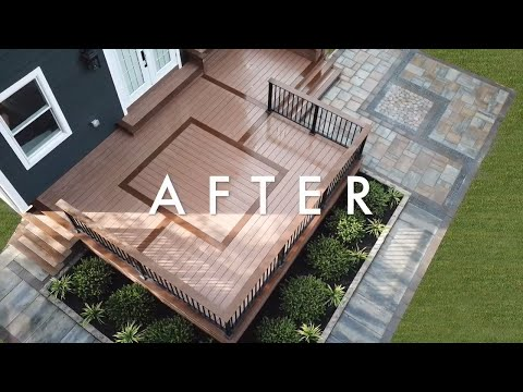 Deck and Patio Build Time Lapse – Lake Street Project Backyard Transformation