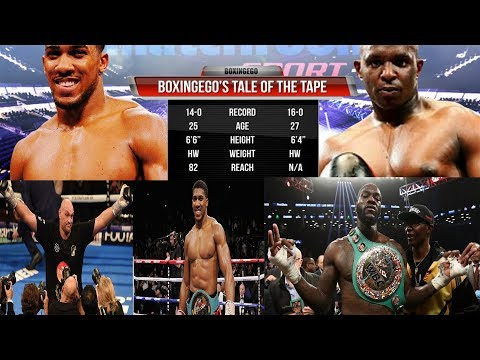 BREAKING NEWS: ANTHONY JOSHUA MANDATED BY WBO TO FACE DILLIAN WHYTE WITH 6 MONTHS OF SEPT 22ND BOUT