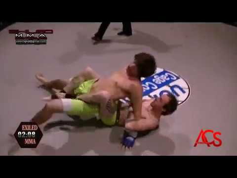ACSLIVE.TV Present's Exiled MMA Dustin Canterbury Vs Justin Cole