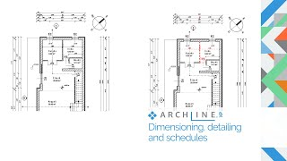 ARCHLine.XP Architectural Webinar Part 5: Dimensioning, detailing, and schedules