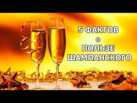 5 ФАКТОВ о ПОЛЬЗЕ ШАМПАНСКОГО