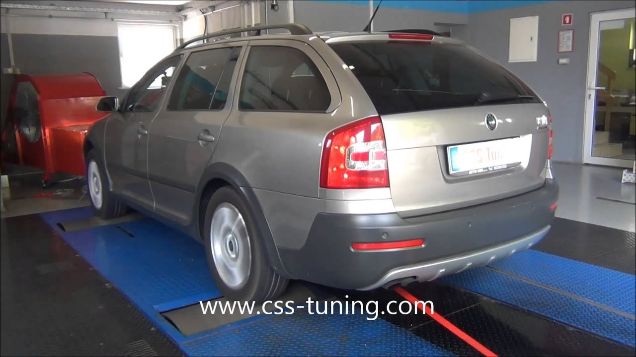 css performance skoda octavia scout 2 0 tdi 140 hp youtube. Black Bedroom Furniture Sets. Home Design Ideas