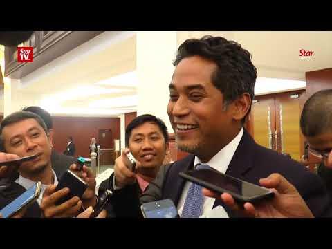 Khairy: I'm happy today because Umno president spoke to me