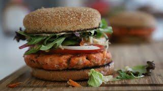 Համեղություն - Սաղմոն Ձկով Բուրգեր - Salmon Burger - Heghineh Cooking Show in Armenian