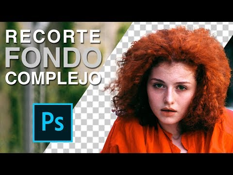 Recortar Cabello (Con Fondo Complejo) En Photoshop