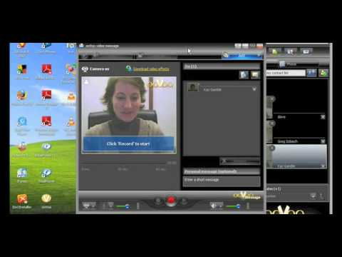 Using video effects on ooVoo