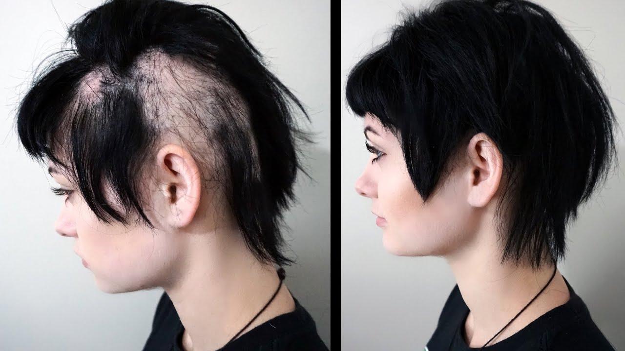 hairstyles hide bald spots