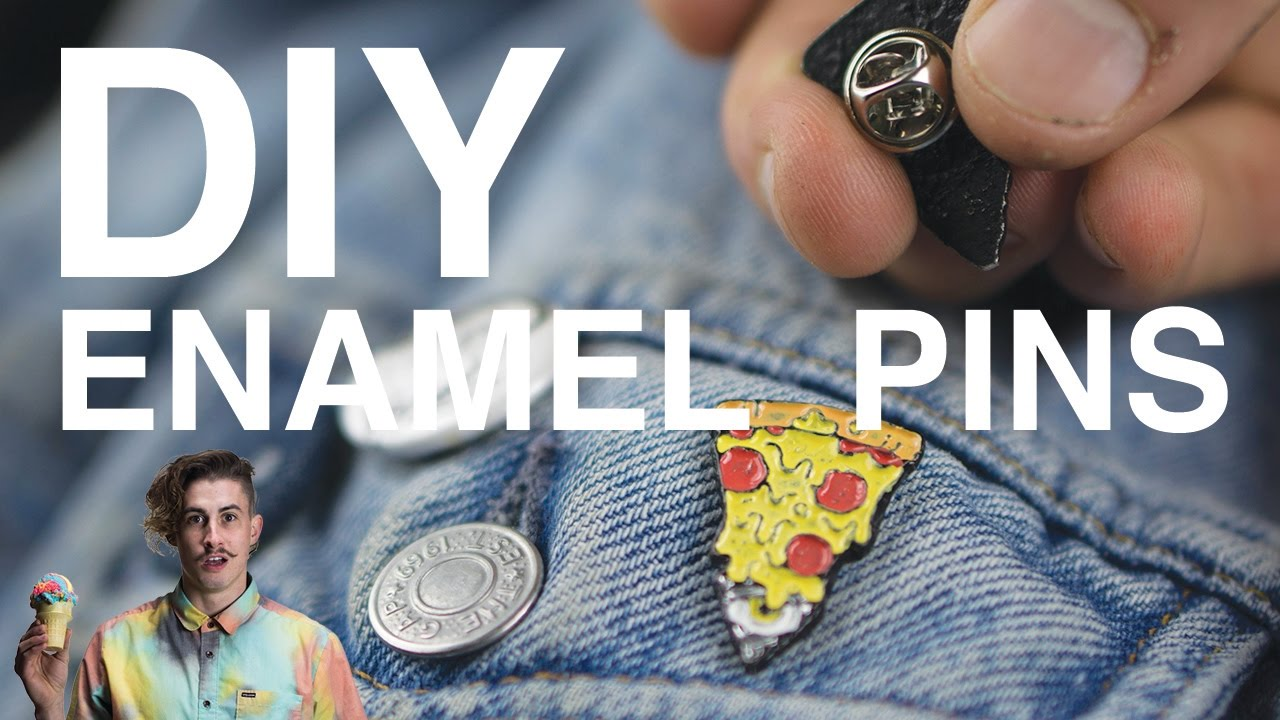 how to make enamel pins at home