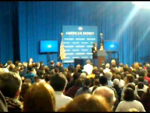 Nashua Community College President, Lucille Jordan at event with President Obama
