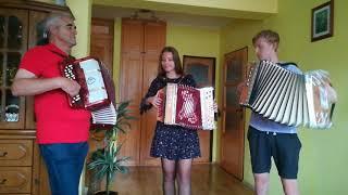 Heligónka Poliakovci + Starký Ondrej :) - Na hodoch muzika vyhrávala