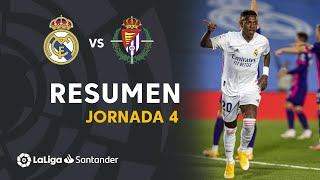 Resumen de Real Madrid vs Real Valladolid (1-0)