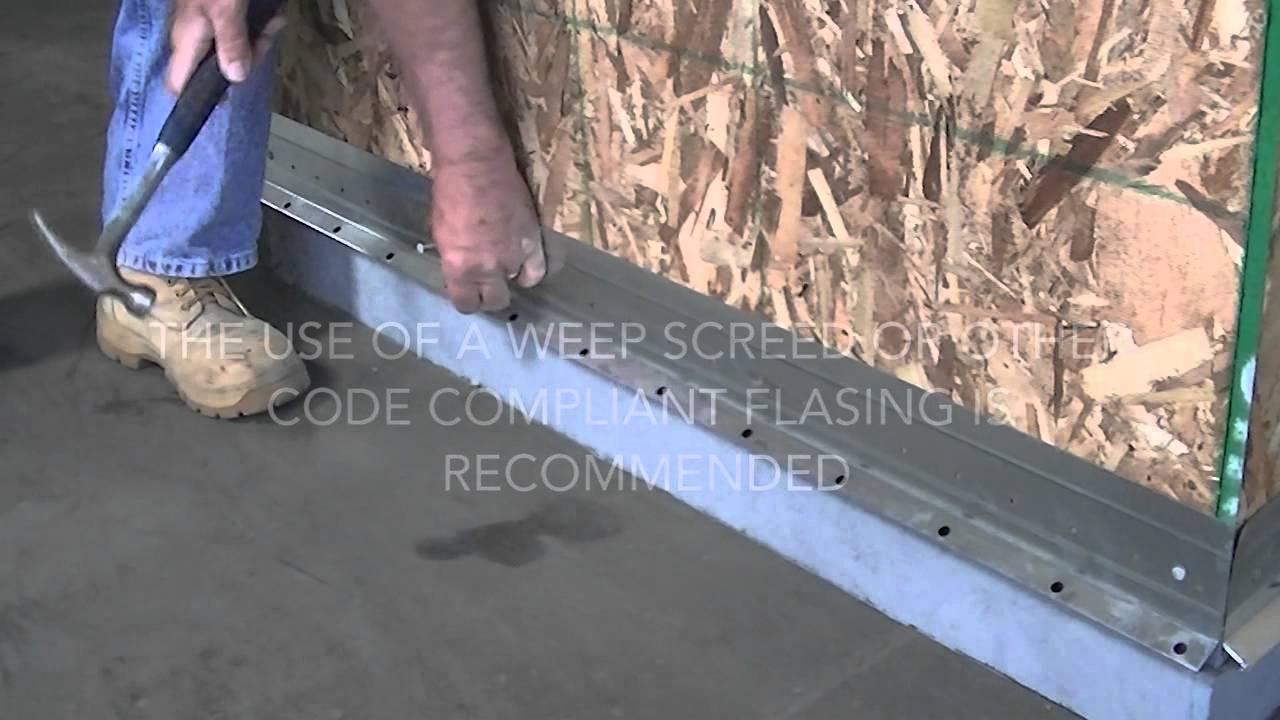 How To Install Stone Veneer Stacked Stone Provia Youtube
