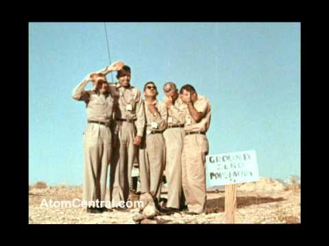 Five Men at Atomic Ground Zero