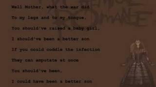 My Chemical Romance - Mama (lyrics)