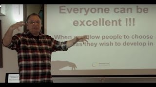 """Yaacov Hecht talks about """"What is Democratic Education?"""""""