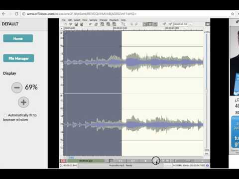 Audio editor online