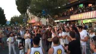 格闘技や音楽、ダンスなどいろんな要素が入ったブラジルの格闘技。