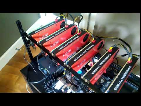 Xilinx FPGA Crypto Mining Rig - www Europemineshop com