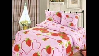 Постельное белье с фруктами и ягодами