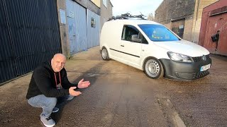 Flame Spitting 380 bhp Audi S3 powered Caddy Van! REVIEW. Pops, Bangs and Acceleration Runs.