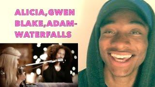 Alicia Keys, Adam Levine, Blake Shelton and Gwen Stefani Waterfalls - The Voice 2017 ALAZON EPI 80 R