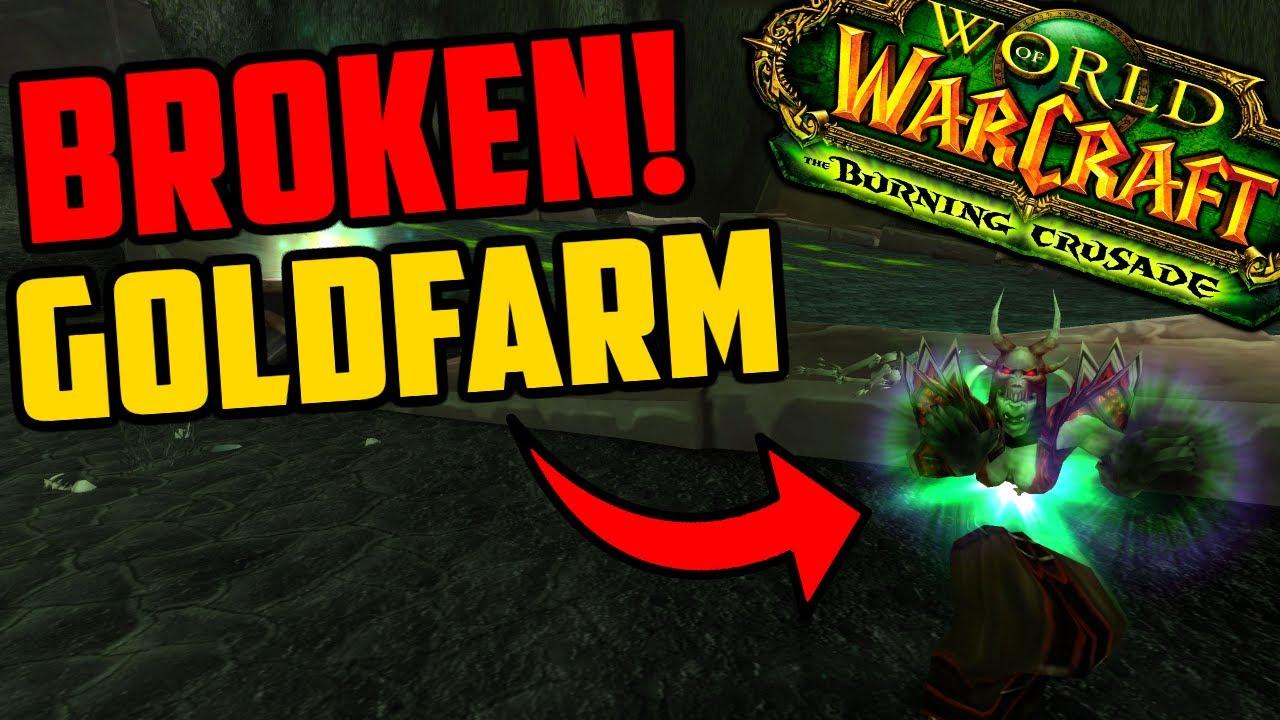This TBC Goldfarm is BROKEN!