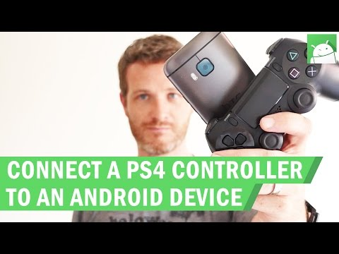 How to connect a PS4 controller to an Android device (no root)