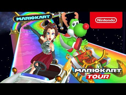 Mario Kart Tour - Holiday Tour Trailer