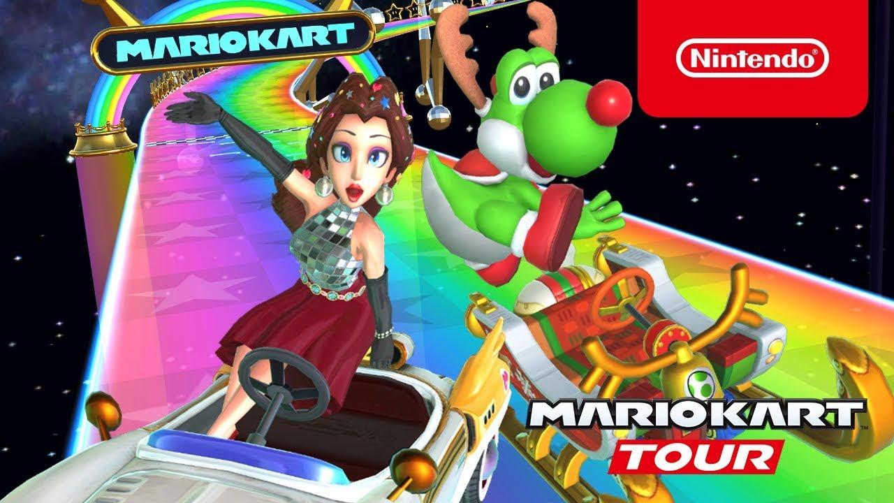 Mario Kart Tour Holiday Tour Trailer
